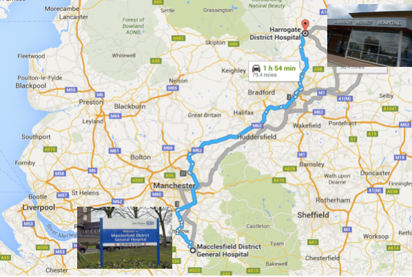 Macclesfield to Harrogate