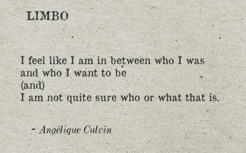 In Limbo poem