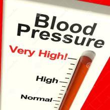 Very high blood pressure
