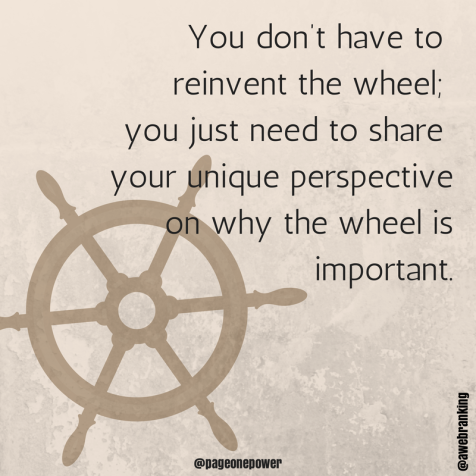 Why the wheel is important