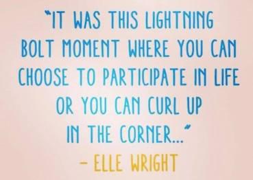 Participate or curl up