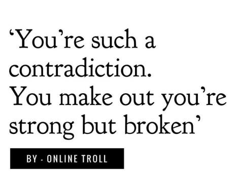 Strong but broken
